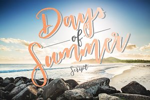 Days of Summer Script