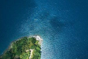 Small tropic island