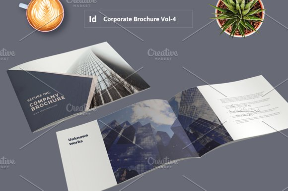 Corporate Brochure Template Vol-4