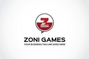 Zoni Games Logo Template