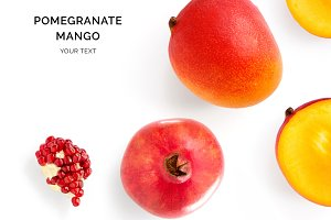 Pomegranate & Mango