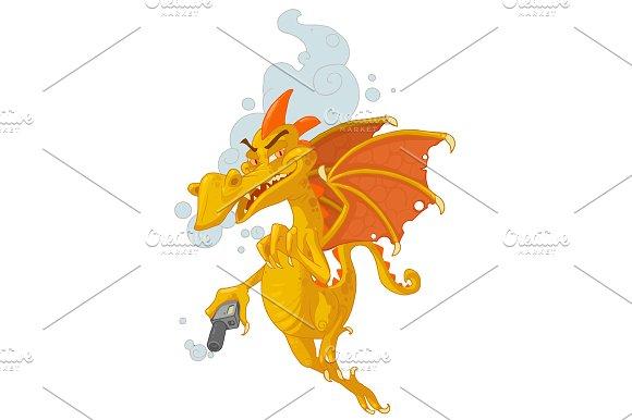 Vaper Dragon Character