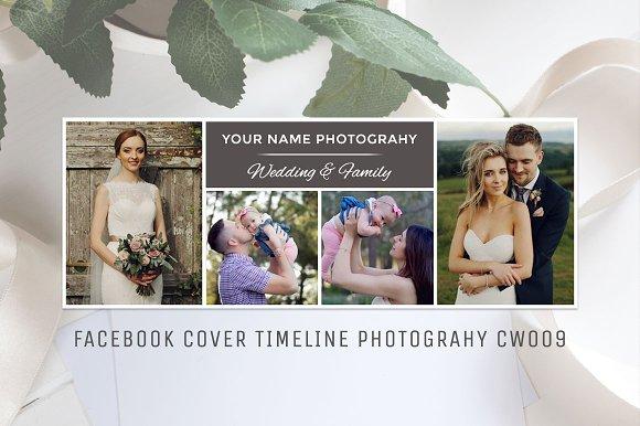 Facebook Photography Template CW009