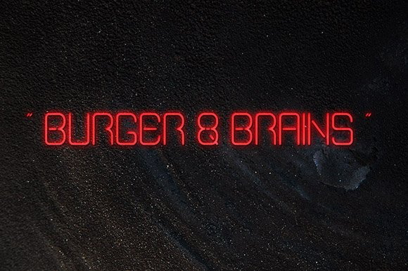Burger Brains Font