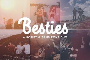Besties - Font Duo