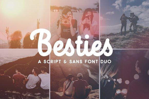 Besties Font Duo SALE