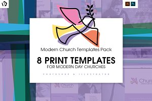 Modern Church Templates Pack
