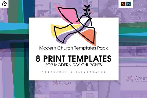 Modern Church Templates Pack