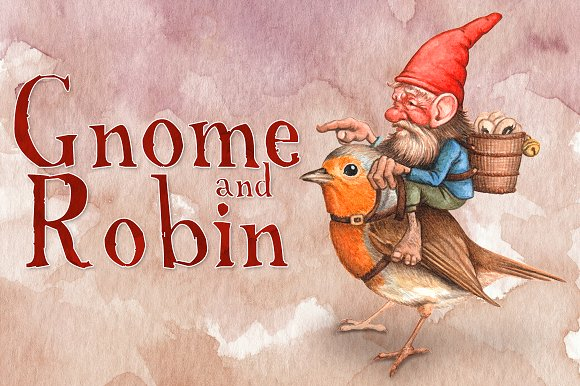 Gnome And Robin