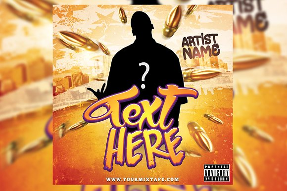 Hiphop CD Cover / Flyer Template