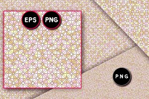 ♥ vector geometric seamless pattern