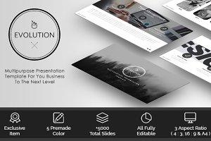 Evolution - Presentation Template