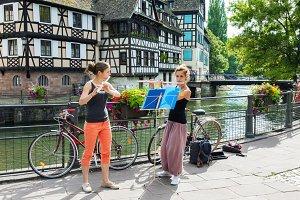 Street musicians in Strasbourg