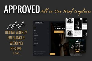 Approved - All in One Html Templates
