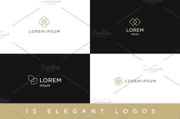 15 Elegant Logos