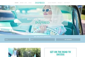 Inspired WordPress Blog Theme