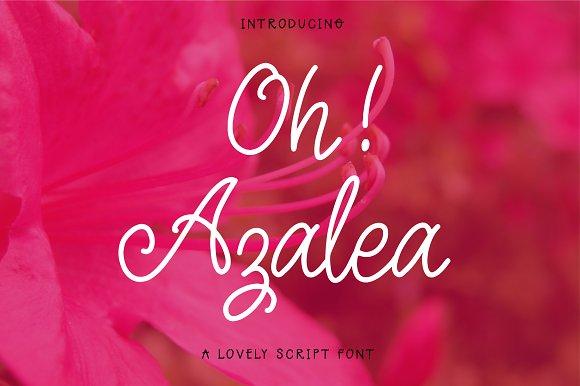 Oh Azalea Script Font