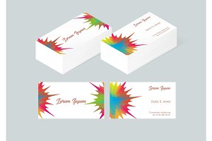 Business card template 3