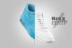 Nike Air Max 1 - Mockup