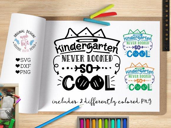 Kindergarten Never Looked So Cool