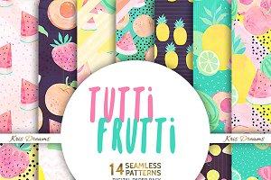 Tutti Frutti Digital Paper