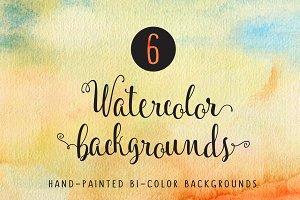 Digital watercolor papers