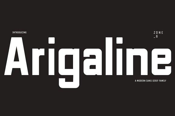 Arigaline Font Family