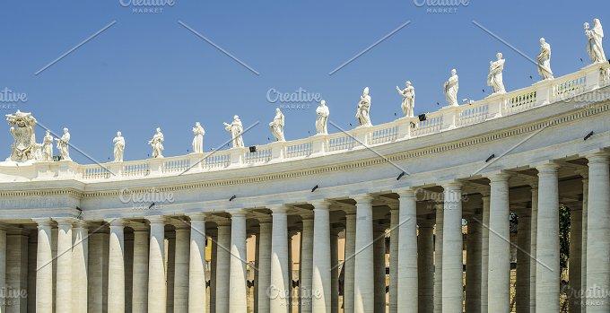 St. Peter's Squar, Vatican, Rome - Architecture