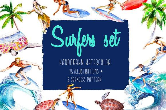 Surfers Set