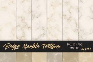 Beige Marble Textures