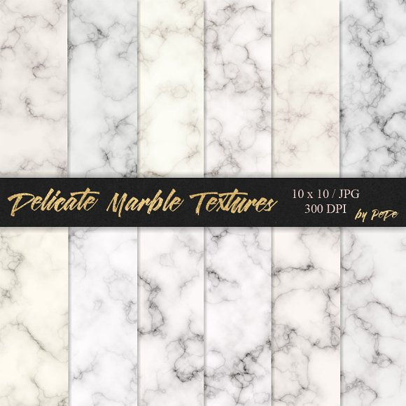 Delicate Marble Textures