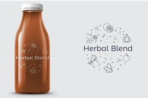 Herbal Blend | Logo Template