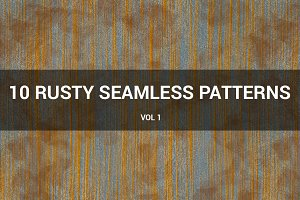 Rusty Metal Seamless Patterns (v 1)