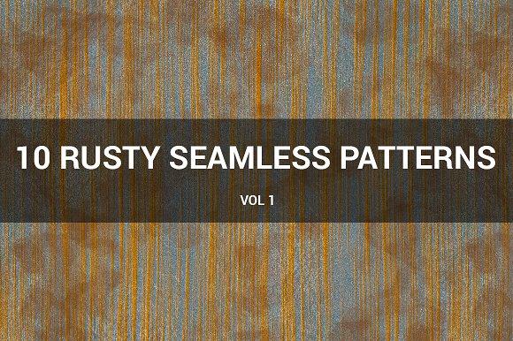 Rusty Metal Seamless Patterns (v 1)