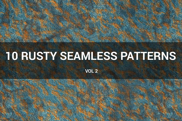 Rusty Metal Seamless Patterns (v 2)