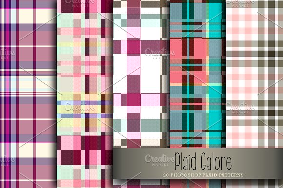 Plaid Galore in Patterns