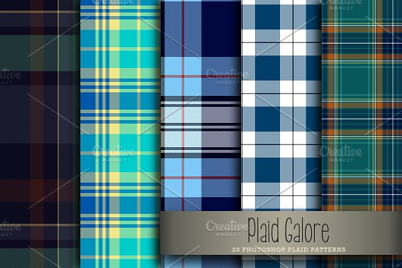 Plaid Galore in Patterns - product preview 1