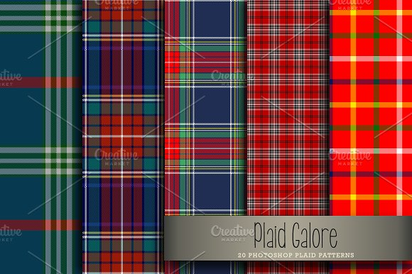 Plaid Galore in Patterns - product preview 2