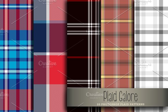 Plaid Galore in Patterns - product preview 3