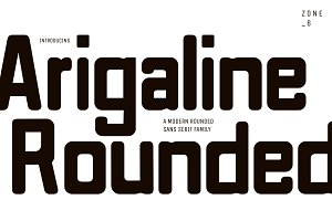 Arigaline Rounded | Font Family