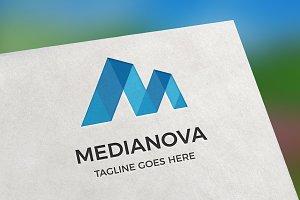 Medianova (Letter M) Logo