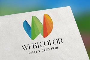 Webicolor (Letter W) Logo