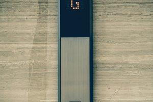 Elevator Button down