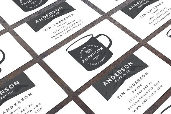 Rugged Business Card Template
