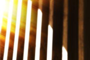 Vertical vivid blinds wint light leak abstraction backdrop