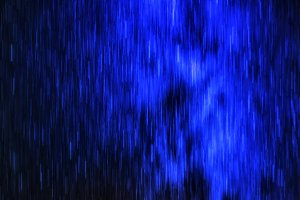 Horizontal vibrant starfall rain digital background abstraction