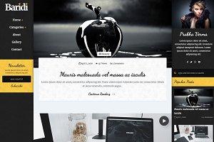 Baridi - Blog Template