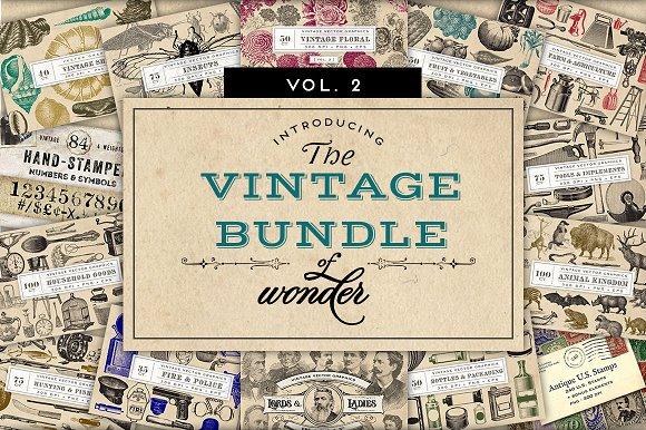Vintage Bundle Of Wonder Vol 2