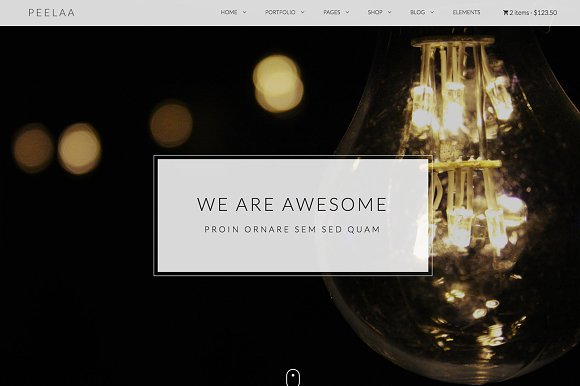 Peelaa Creative Business Template