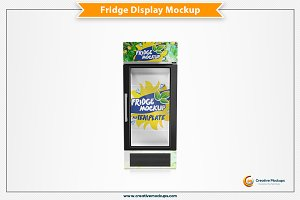 Fridge Psd Mockup
